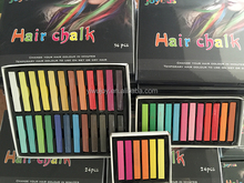 best seller Salon Packed Temporary Hair Chalk | 1Box/24PCS Non-toxic Temporary Long Hair Chalk Dye Soft Pastels Salon/Party Kit