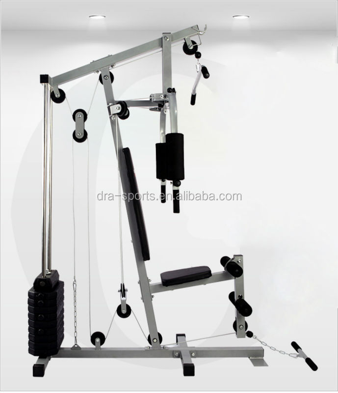 Single esta o home gym fitness hg420 esta o weightlift peso bench perna bra o treino de - Banc de musculation number one ...