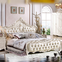 bed leather bed modern bed bedroom furniture modern bedroom furniture set with prices bed China factory direct wholesale