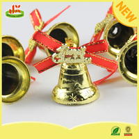 Popular PVC christmas ornament bell