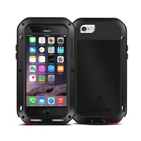 Hot selling waterproof aluminum mobile phone case for iphone 6