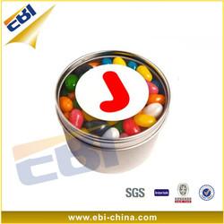 Round aluminum packaging cream jars for Personal