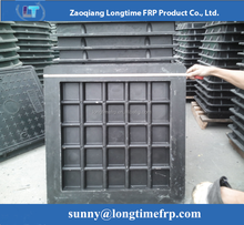 2015 new product square frp water meter manhole cover price with high quality for sale