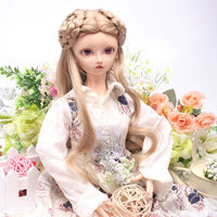 princess doll wigs synthetic hair