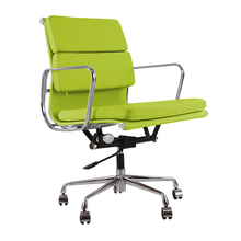 Classic office chair hotel / Indoor swivel chair / Low back soft pad chair