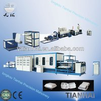 Foam Lunch Plastic PS Dishes Hot Production Line