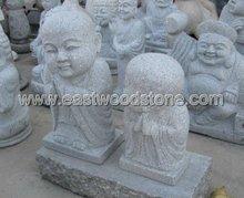Buddha Carved in Granite