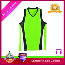 Cheap custom athletic basketball jerseys wear from China factory