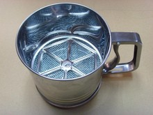 BIG SIZE stainless steel flour sifter