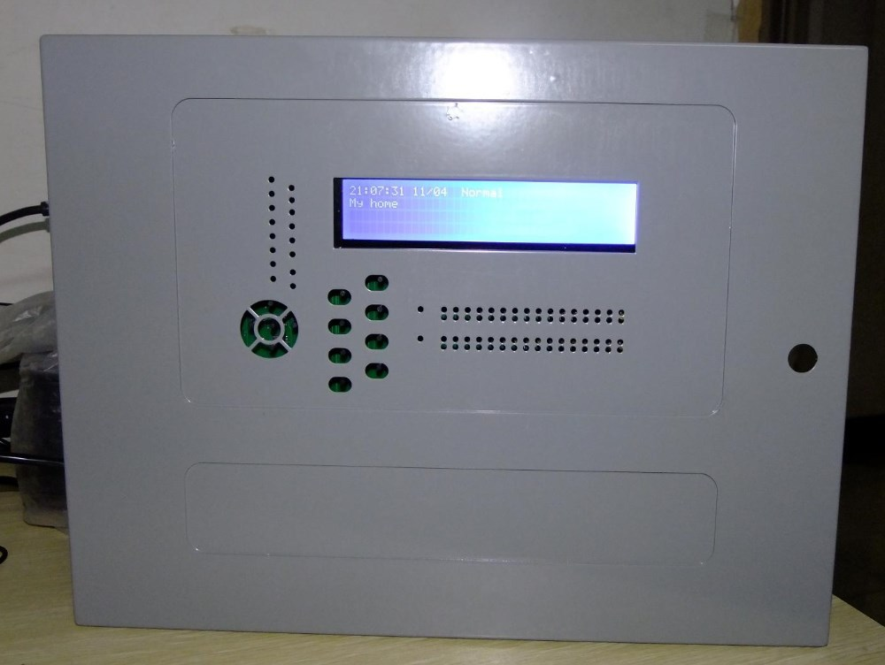 Analog addressable fire alarm panel