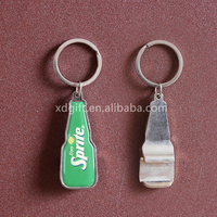 HOT!!! promotional meta epoxy bottle opener keychain