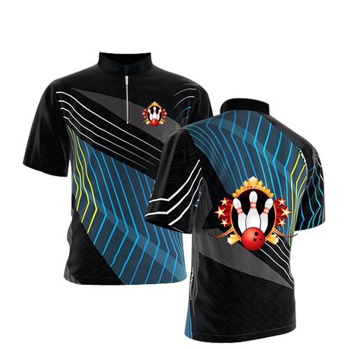 Uomo cheap rosso Traspirante camicia <span class=keywords><strong>bowling</strong></span> per trasporto <span class=keywords><strong>tessuto</strong></span> stampato