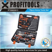 78pcs high quality electric tool box set