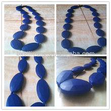 Design new coming natural silicone teething necklace