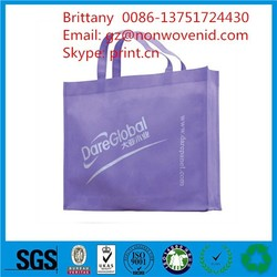 reinforced handle non woven shopping tote bags