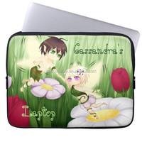 custom printed neoprene laptop sleeve