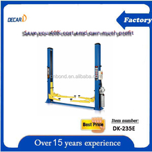 """manufacture & export """"decar"""" brand two post car lift"""