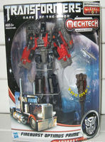 Action Figures Dark of the Moon Series Voyage FireBurst Optimus Prime KO version Transformable Robot