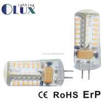 Zhejiang Manufacturer 360degree led lamp lighting G4 3014SMD 1.5W Warm white energy saving bulb LED G4 Bulb