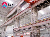 High rise tube truss steel structure