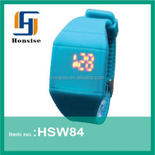 Unisex Led watches fashion led wrist watch 3ATM Water resistant watches