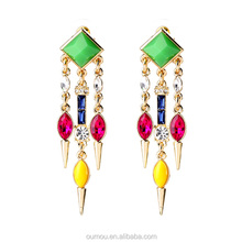 Colorful Fancy Beads Earring, India Earring, Latest Design For Christmas