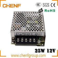 CE approved AC Input LED Driver 25W Single Output Switching Power Supply