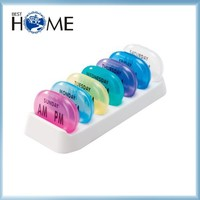 Top Quality Plastic Monthly 30 Day Pill Box for Medication Sale