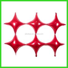 new self sealing quadrilateral mylar balloon