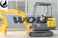 2000kg mini excavator for sale