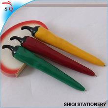 wholesale vegetable type pepper shaped ball pen