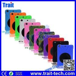 12 colors--Made in china X Shape TPU+PC kickstand Hard Case for iPad Mini 3