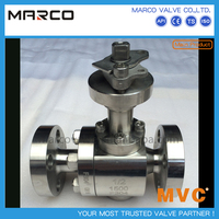 Hot selling flanged threaded end carbon steel and stainless steel ball valve with key