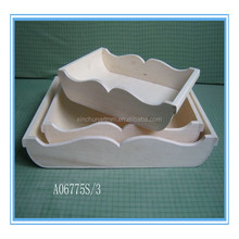 various design wooden storage tray wooden tray wholesale