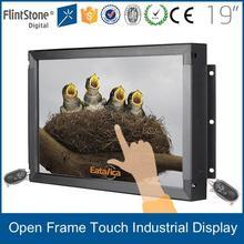"""Flintstone 19"""" kiosk touch screen monitor, open frame touch monitor, flexible framless touch screen monitor"""