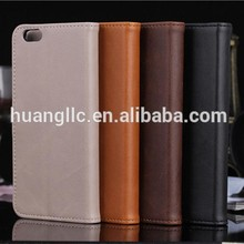 Wallet PU Leather Case for Iphone 6,Wholesale for Iphone6 Case