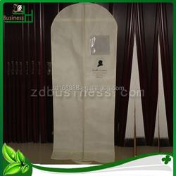 Wholesale women non woven long dress cover / garment bag / garment cover