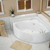 triangle Acrylic corner bathtub with top quality SL9132(00)