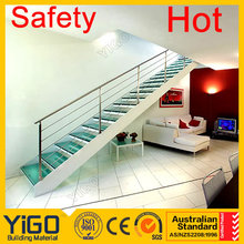 double stringer modern design steel stairs&staircase price