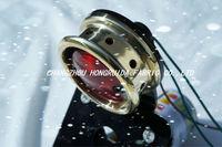 chopper motorcycle brass ring Tail Light License Plate Bracket Taillamp For harley davison