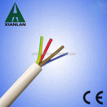 4 core copper wire pvc coated wire 1.5mm