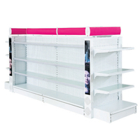 Slap-up cosmetic store display shelf for sale