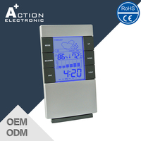 Ce Certified Super Quality Newest Design Weather Station Clock
