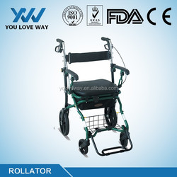 super light 1.6mm thickness frame rollator frame For 2016 insurance policy