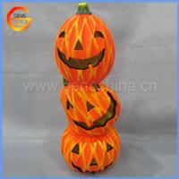 Cute ceramic pumpkin light halloween