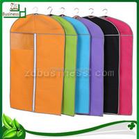 wholesale promotional non woven garment bag / garment cover / suit cover bag