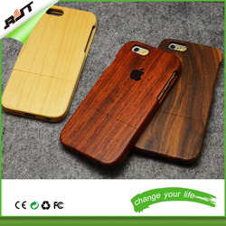 Wholesale natural bamboo wood phone case for iphone 6 6s 6g