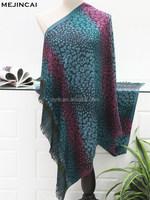 colorful patterns jacquard korean fashion shawls