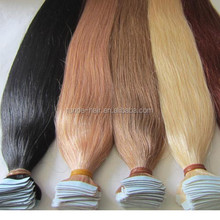 wholesale 26 inches tape human hair extensions 30 inch remy tape hair extensions