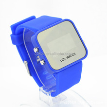 China manufacture led mirror Watches vogue in the market can custom logo
